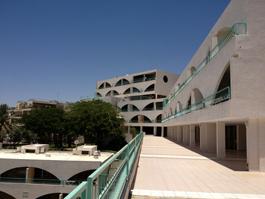 מלון לב אילת - מבט על דירות הנופש במלון